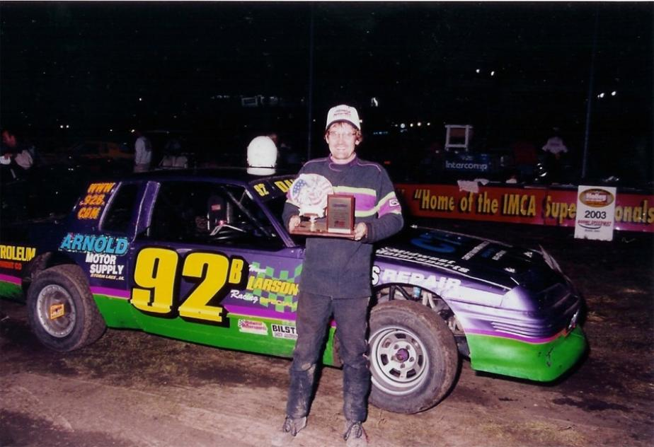 About Imca Stock Car Driver Brian Blessington